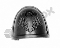 Deathwatch Veterans Chapter Shoulder Pad - Raven Guard