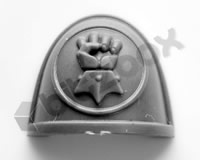Imperial Fists Primaris Upgrade Shoulder Pad A