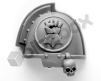 Imperial Fists Primaris Upgrade Shoulder Pad D