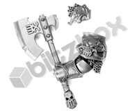 Khorne Bloodbound Blood Warriors Goreaxe Q