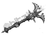 Warriors of Chaos Khorne Skullreapers Mace C