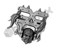 Warriors of Chaos Khorne Wrathmongers Head C