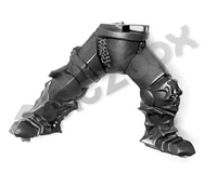 Warriors of Chaos Khorne Skullreapers Legs D