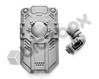 Necromunda Palanite Subjugators Assault Shield