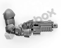 Primaris Space Marine Assault Intercessors Heavy Bolt Pistol D
