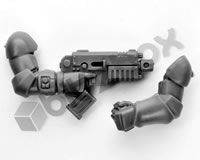 Primaris Space Marine Assault Intercessors Heavy Bolt Pistol F