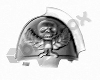 Primaris Space Marine Aggressors Shoulder Pad E
