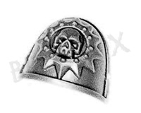 Space Marine Sternguard Veterans Shoulder Pad M