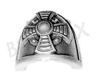 Space Marine Vanguard Veterans Shoulder Pad O