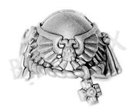Space Marine Vanguard Veterans Shoulder Pad P