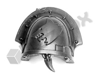 Space Wolves Chapter Upgrade Shoulder Pad H