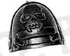 Space Wolves Grey Hunters Shoulder Pad A