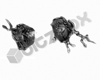 Sylvaneth Kurnoth Hunters Shoulder Pads F